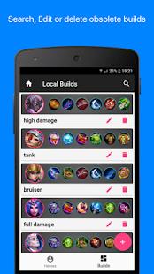 Builds for Mobile Legends - náhled