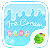 Ice Cream GO Keyboard Theme