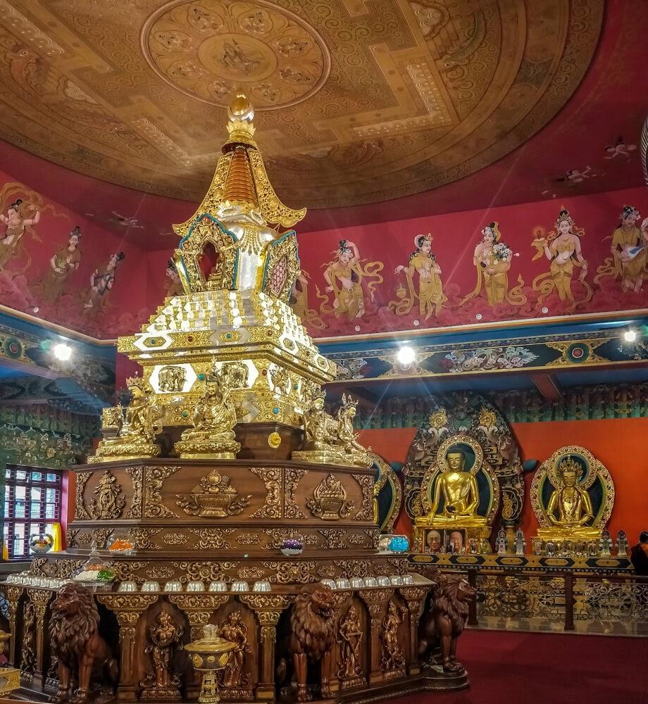 namdroling+monastery+bangalore+coorg+karnataka