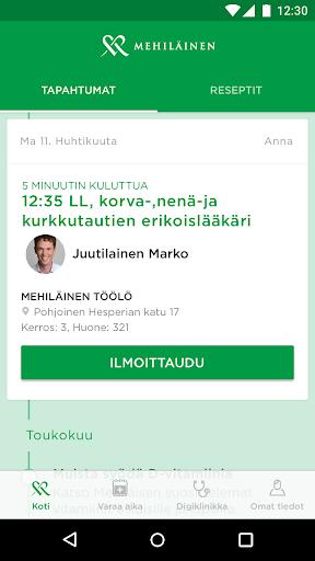 OmaMehiläinen screenshot 1
