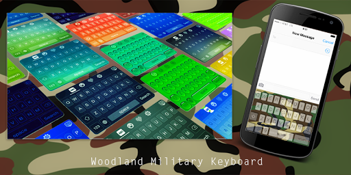 Woodland Military Keyboard