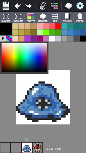Dot Maker - Pixel Art Painter screenshot 5