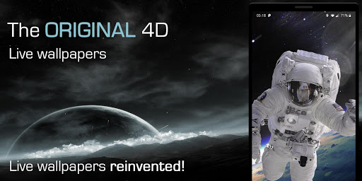 4D Live Wallpapers--Animated AMOLED 3D Backgrounds 1.58 screenshots 3