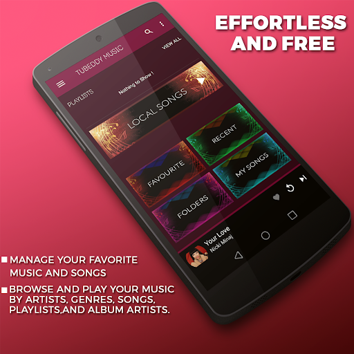 tubeddy music audio player app (apk) free download for