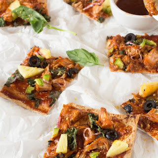 Thin Crust BBQ Jackfruit Pizza