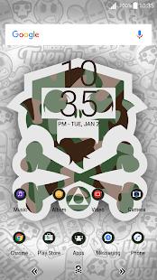 Tema | Monkey Camouflage | X - náhled