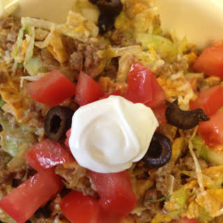 Tossed Cool Ranch Taco Salad.