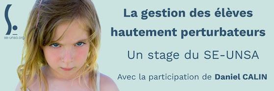 Stage Elèves hautement perturbateurs