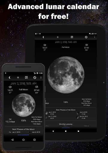 Moon Phase Calendar 1.41 screenshots 9