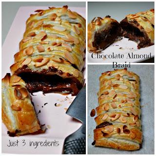 Chocolate Almond Braid.