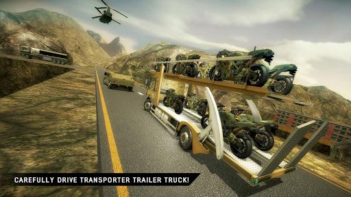 US Army Transporter: Truck Simulator Driving Games  captures d'écran 4