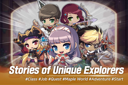 MapleStory M 1.2703.273 gameplay | by HackJr.Pw 1