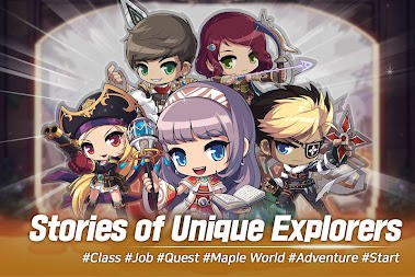 MapleStory M APK screenshot thumbnail 1