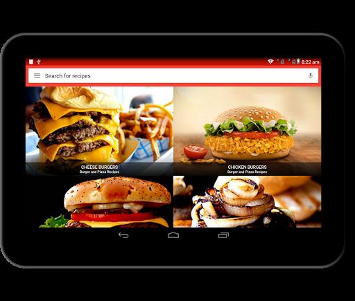Burger And Pizza Recipes 25.7.5 screenshots 15