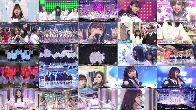181221 (720p+1080i) AKB48G 欅坂46 乃木坂46 Part – Music Station Super Live