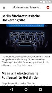 SZ.de - Nachrichten - náhled