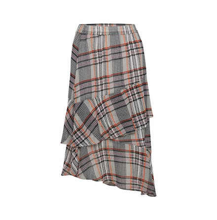 Celest Checked Skirt - Soaked in Luxury