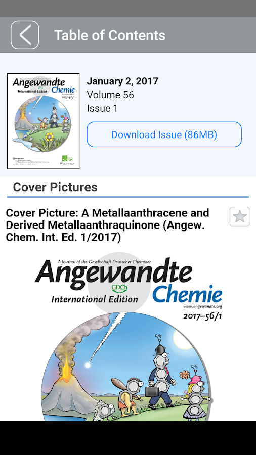 ChemPubSoc Europe- screenshot
