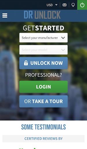 Dr Unlock - Phone Unlock Codes