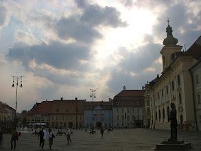 Photo: Plaza Mayor - Sibiu - Rumania