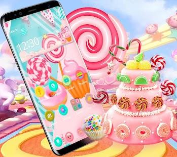 Candy Lolipop Cute Theme - náhled