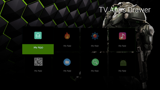 TV Apps Drawer 3