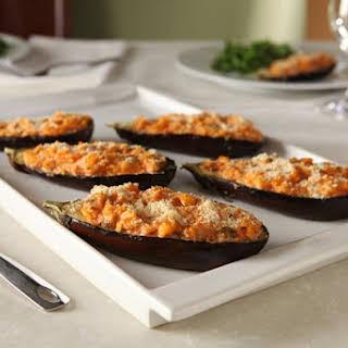 Stuffed Eggplant Parmesan.