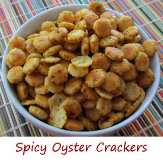 Spicy Oyster Crackers.