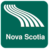 Nova Scotia Map offline