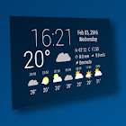 Simple Time & Weather Widget icon