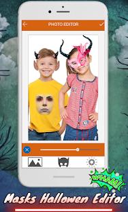 Halloween kids Makeup : changer face clown masks - náhled