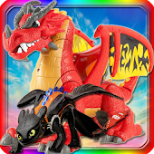 Slide Toy Dragon Game