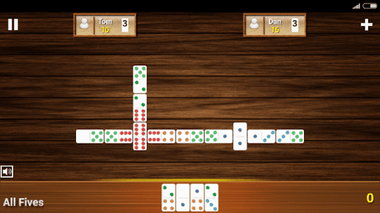 Fives Dominoes 2