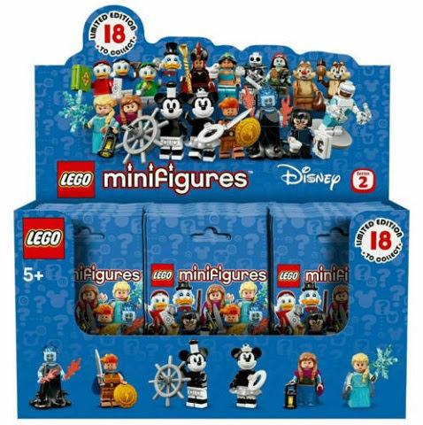 Contenido de Lego® 71024 Caja Completa Sobre Sorpresa Edición Disney 2