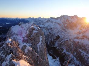 Photo: Sonnenaufgang am Blassengrat