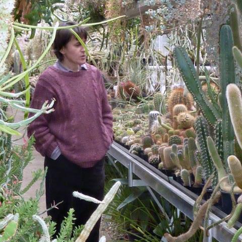 Photo: Me with cacti in Hortus Botanicus Amsterdam
