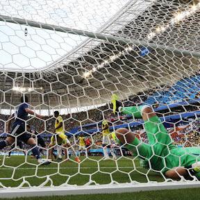 サッカー日本代表、決勝Tに繋がるコロンビア戦勝利...カメラがとらえた【SAMURAIBLUE 30の名場面】