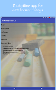 citation generator lite android apps on google play  citation generator lite screenshot thumbnail