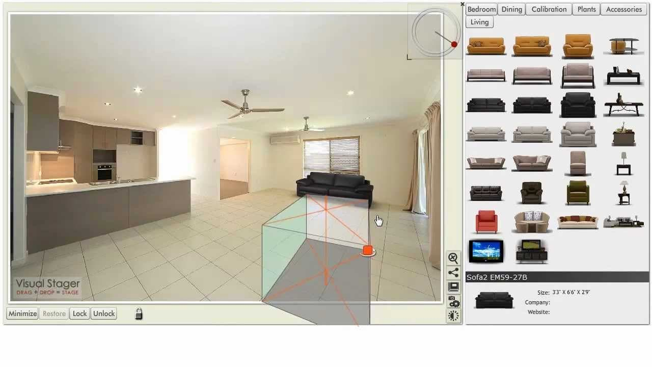 Virtual Home Staging Software VisualStager