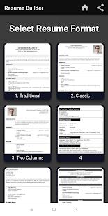 resume maker app download