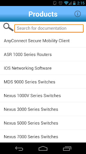 Cisco Tech Docs screenshot 1