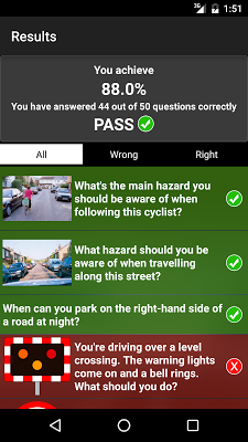 Theory Test UK Car Free - screenshot