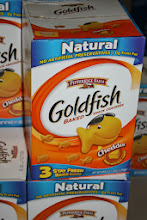 Photo: Goldfish! One of the many items we go through quickly in our house.