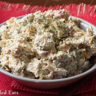 Bacon Ranch Cheddar Chicken Salad – Low Carb.