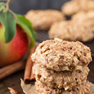Apple Pecan Oatmeal Breakfast Bars.