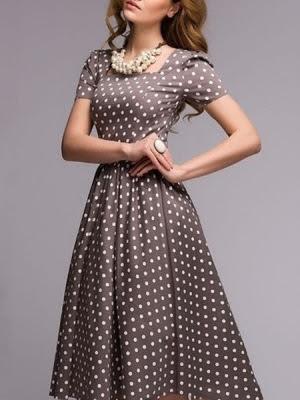 Polka vintage dress