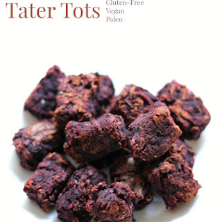 Purple Sweet Potato Tater Tots