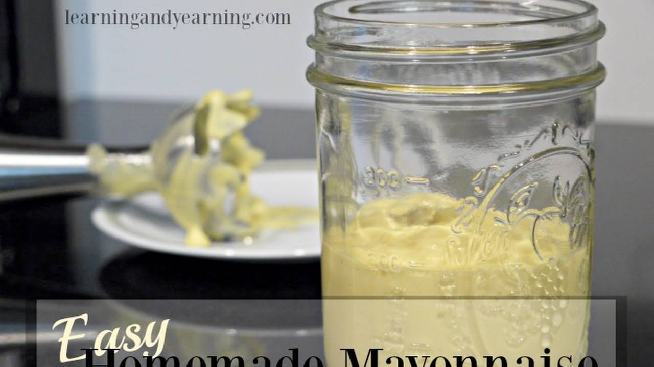 10 Best Homemade Mayonnaise Without Mustard Recipes Yummly