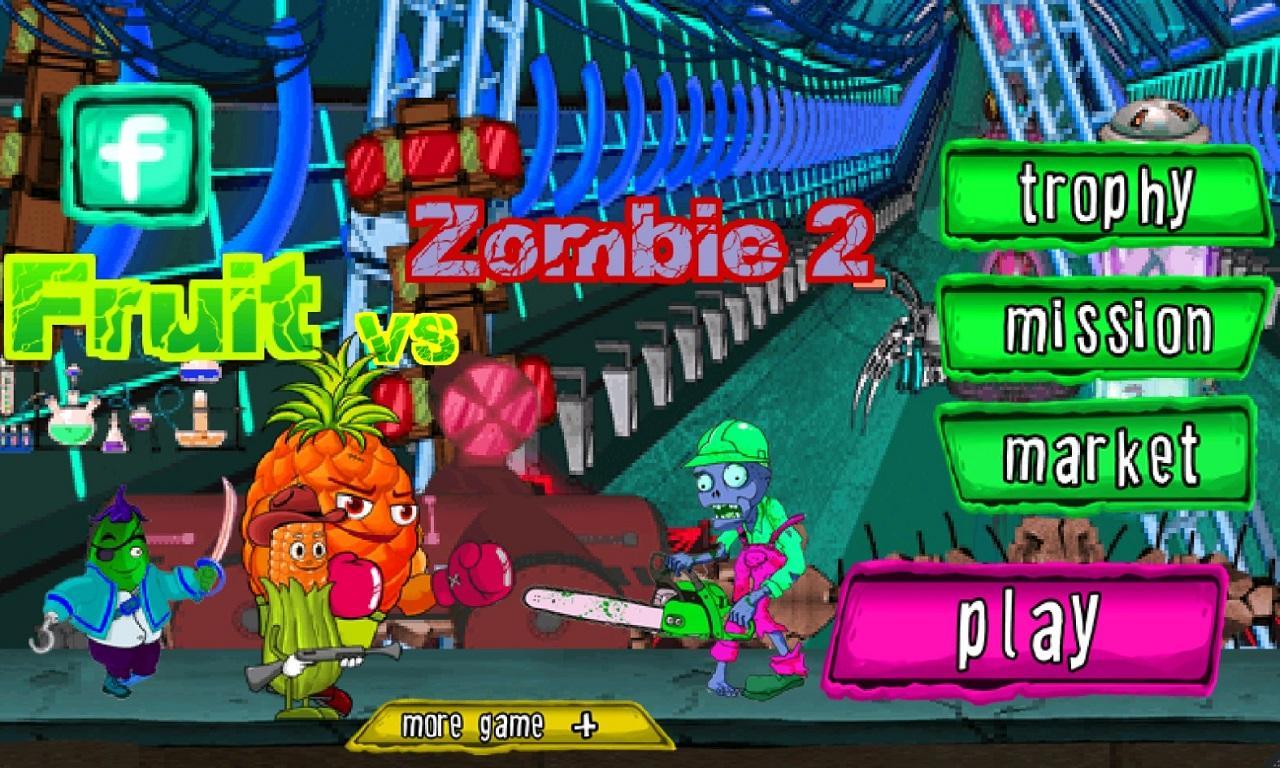 Fruit vs zombies - Fruit Vs Zombie 2 Screenshot