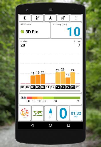 GPS Test screenshot 1